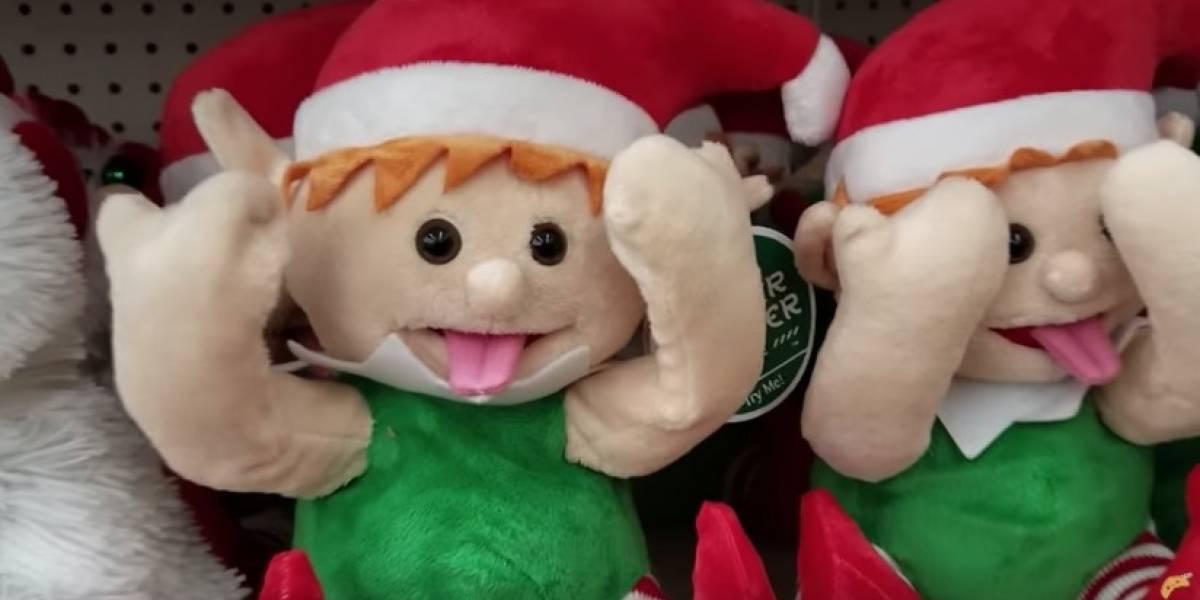 El tierno elfo que se transformó en el adorno favorito de las mujeres en esta Navidad