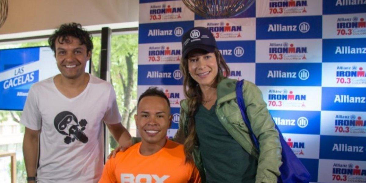 Paratletas y famosos de la TV se le miden al Allianz Ironman 70.3km Cartagena
