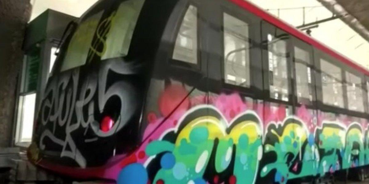 ¡Tanto derroche! Metro gastó $66 millones en 2018 en reparación de vagones vandalizados