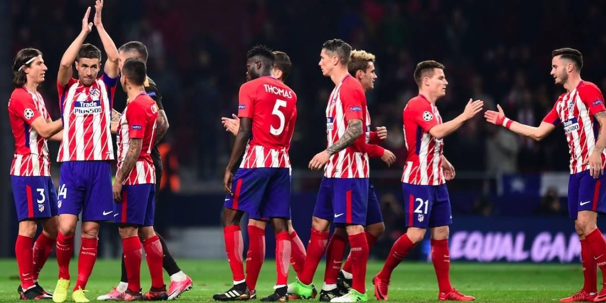 Con Moreno en la banca, el Atlético de Madrid se impone ante la Roma