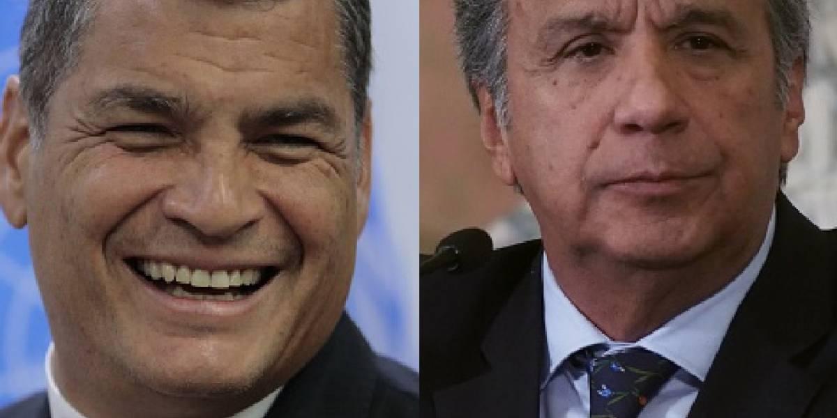 """Correa: Convención de Alianza PAIS va a """"expulsar"""" a Lenín Moreno del partido"""