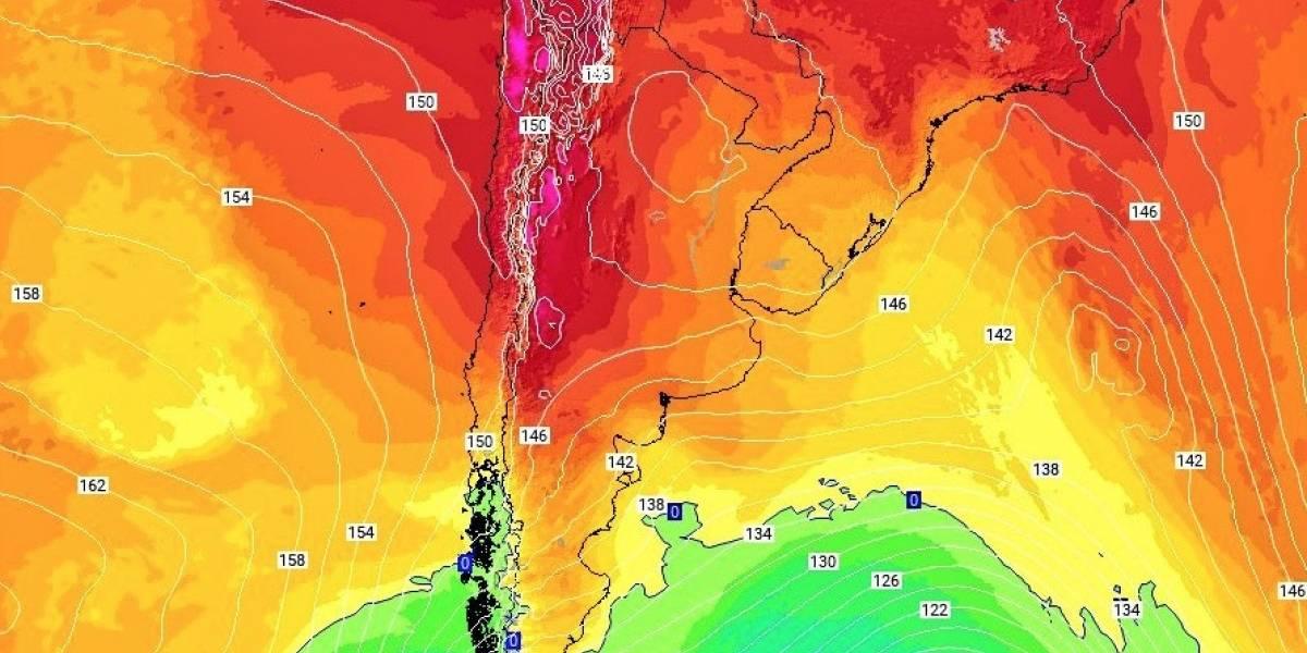 Meteorología advierte ola de calor para mañana entre Coquimbo y O'Higgins