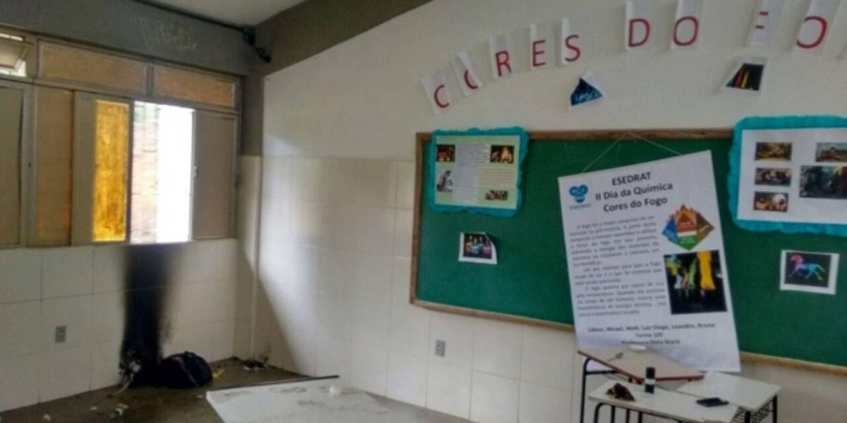 Explosão em feira de ciências deixa 4 estudantes feridos em Minas Gerais