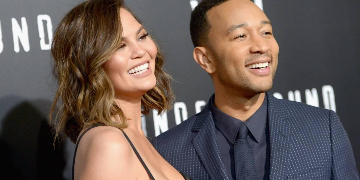 Chrissy Teigen revela sexo do segundo bebê com John Legend