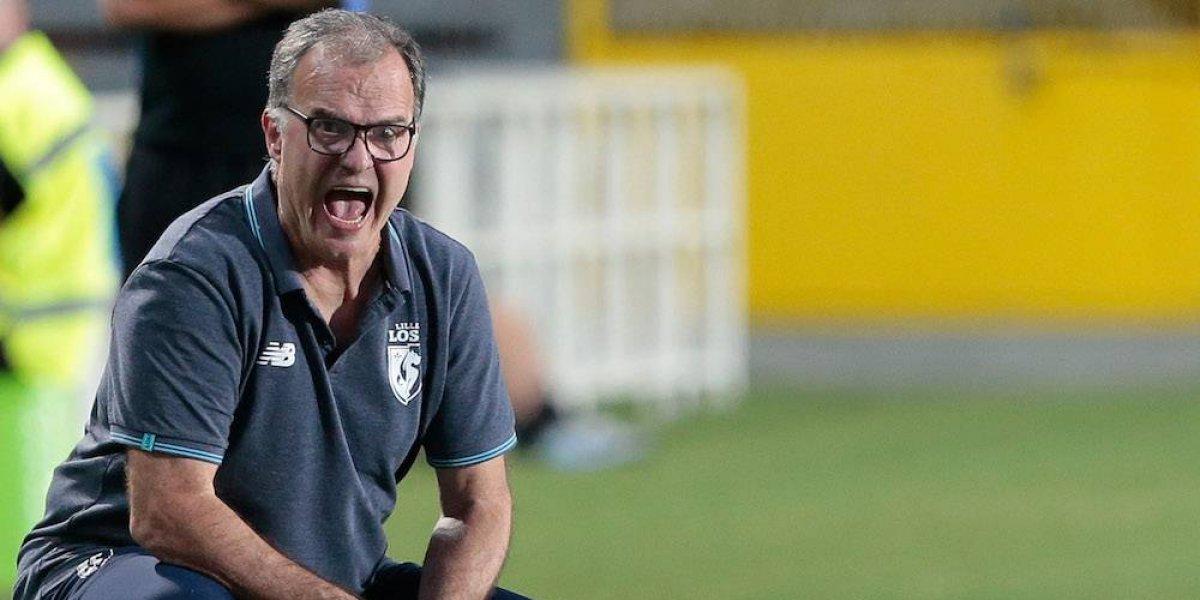Lille suspende a su entrenador Marcelo Bielsa