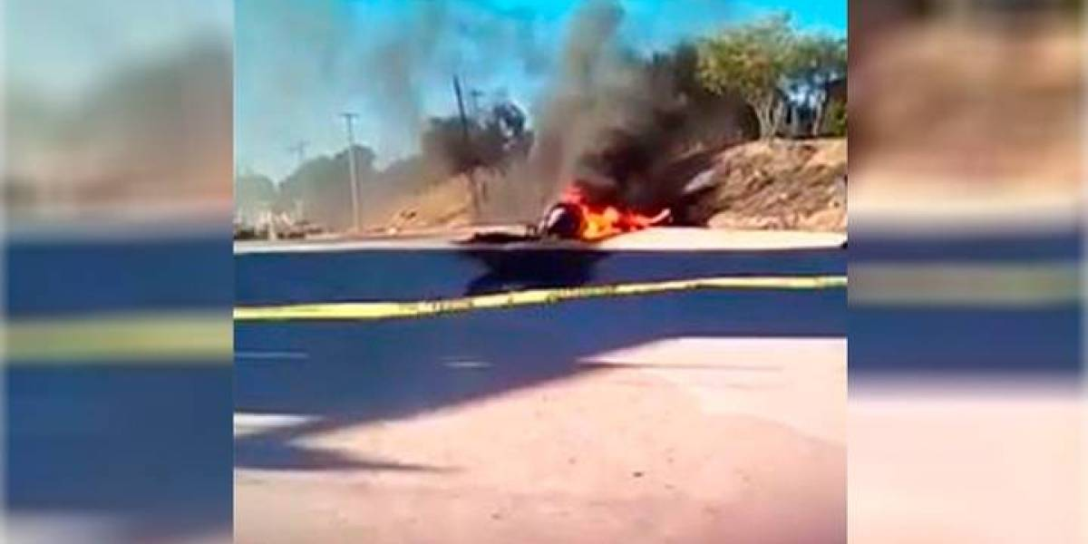 Cae helicóptero de la policía de Tijuana durante persecución