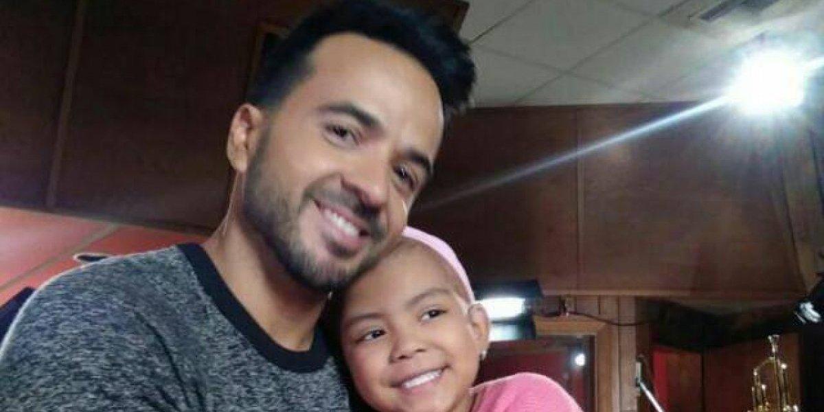 La niña con cáncer que enamoró a Luis Fonsi era guatemalteca y esta es su historia