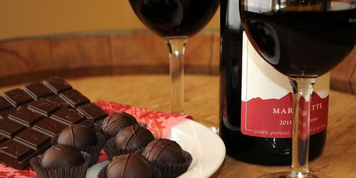 Chocolate y el vino: aliados para prevenir las arrugas