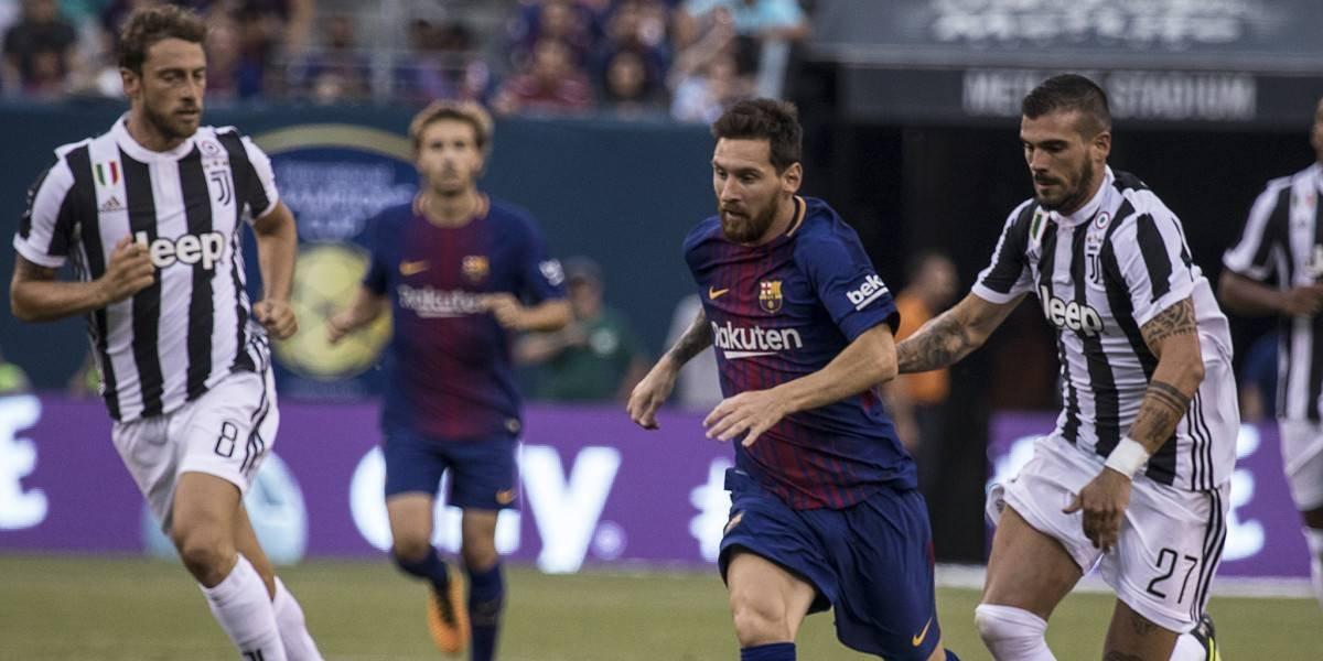 Con Cuadrado en cancha, Juventus buscará la recuperación ante el Barcelona