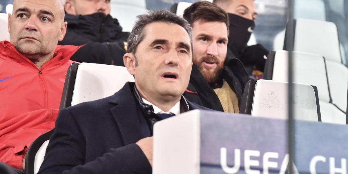 Lionel Messi sale a la banca en duelo de Barcelona frente a Juventus