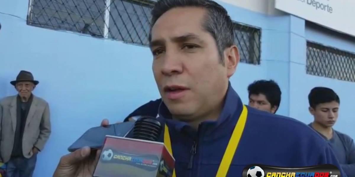 José Luis Chiriboga habló sobre presunto lavado de dinero en la FEF