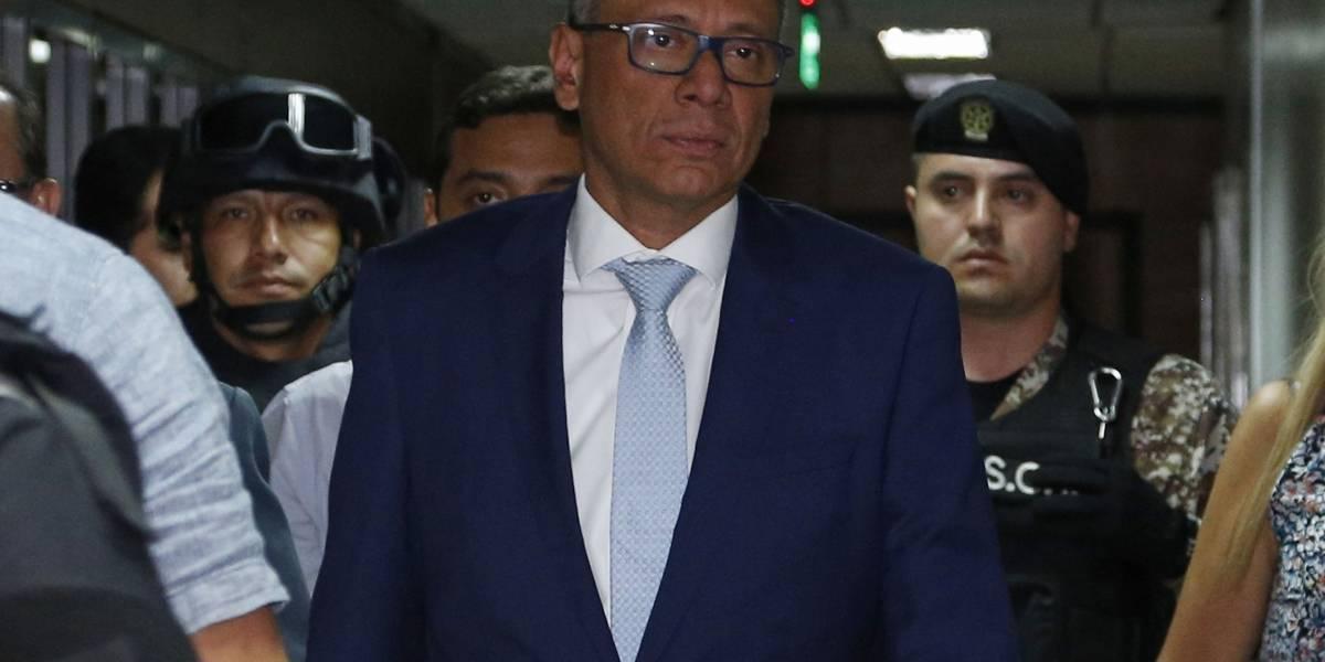 Fiscalía presenta pruebas testimoniales en audiencia de juicio contra Glas — Caso Odebrecht