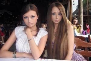 Olga, irmã da Barbie Humana