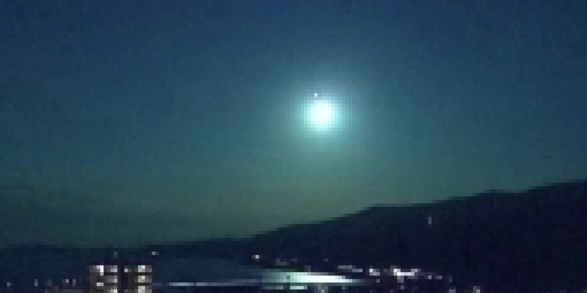 Así se vio en Japón una espectacular bola de fuego que cruzó el cielo nocturno