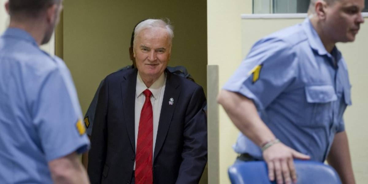 """VIDEO. Ratko Mladic, el """"Carnicero de los Balcanes"""", es condenado a cadena perpetua"""