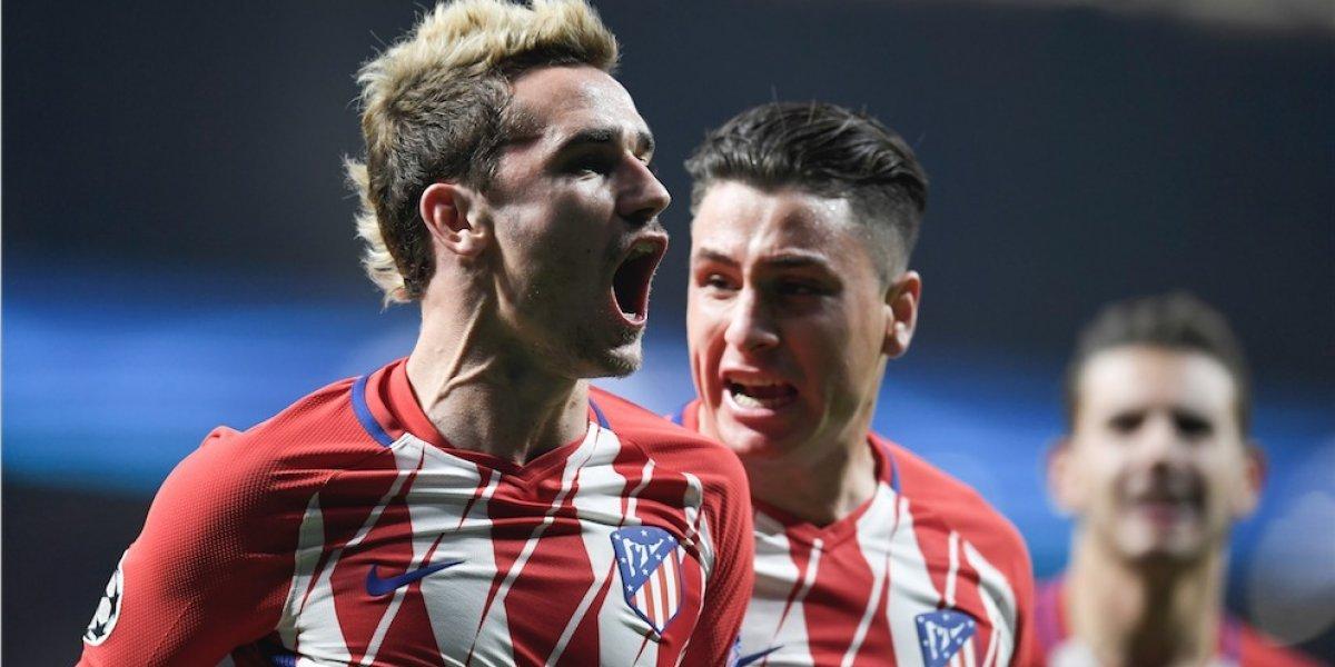 Un golazo de Griezmann hace soñar al Atlético con la clasificación a octavos