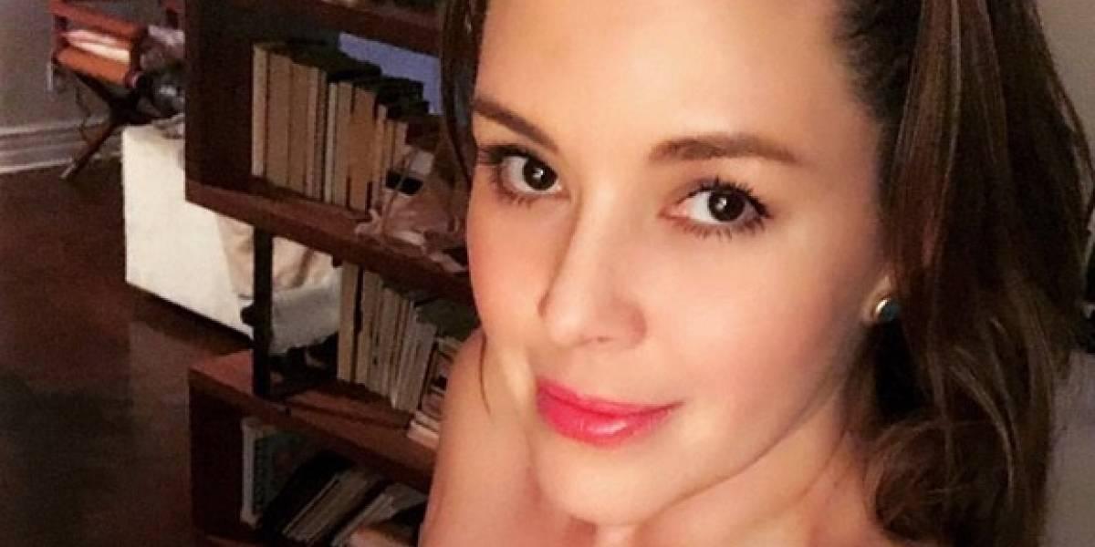 La polémica foto de Alicia Machado que borró tras las críticas