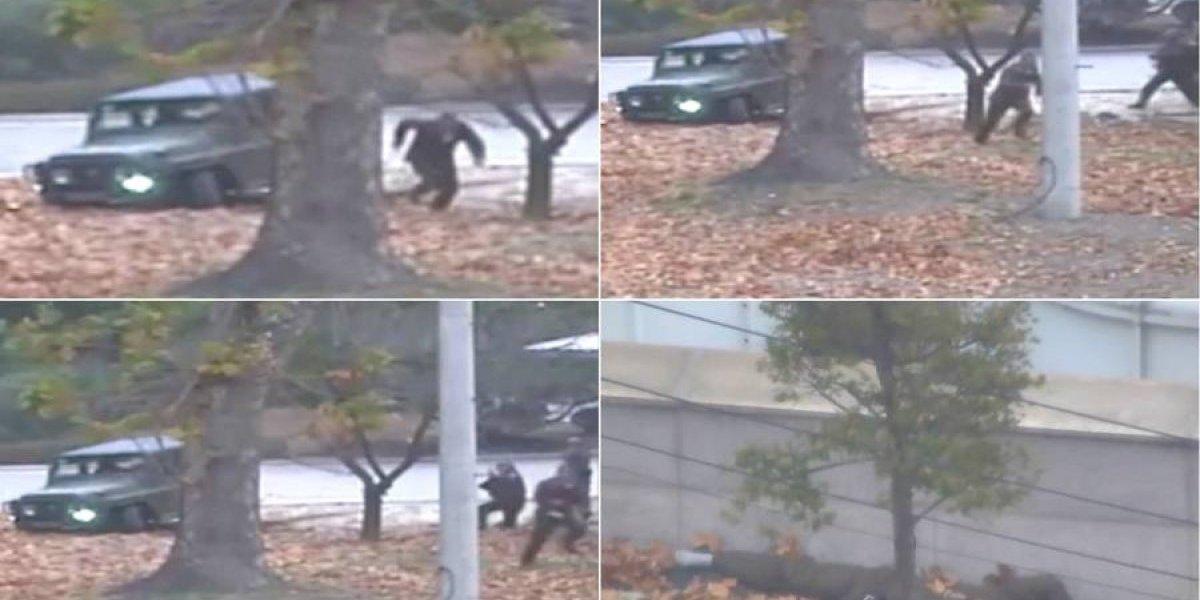 VIDEO. El drama del soldado norcoreano que deserta hacia Corea del Sur