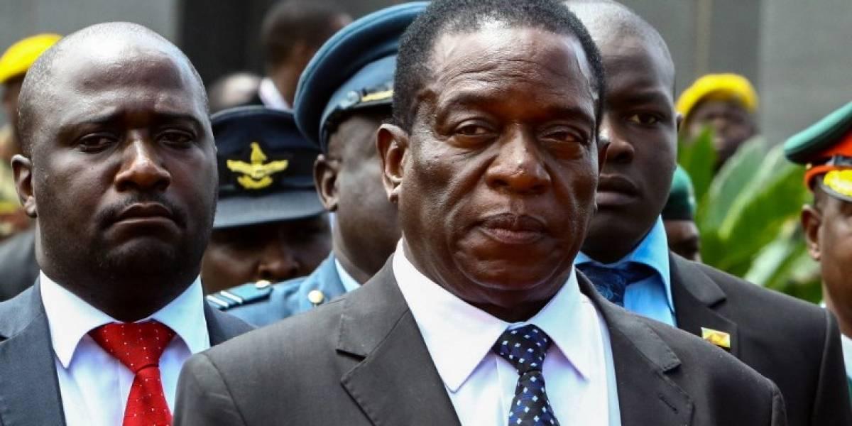 Mnangagwa regresa a Zimbabue para convertirse en el sucesor de Mugabe