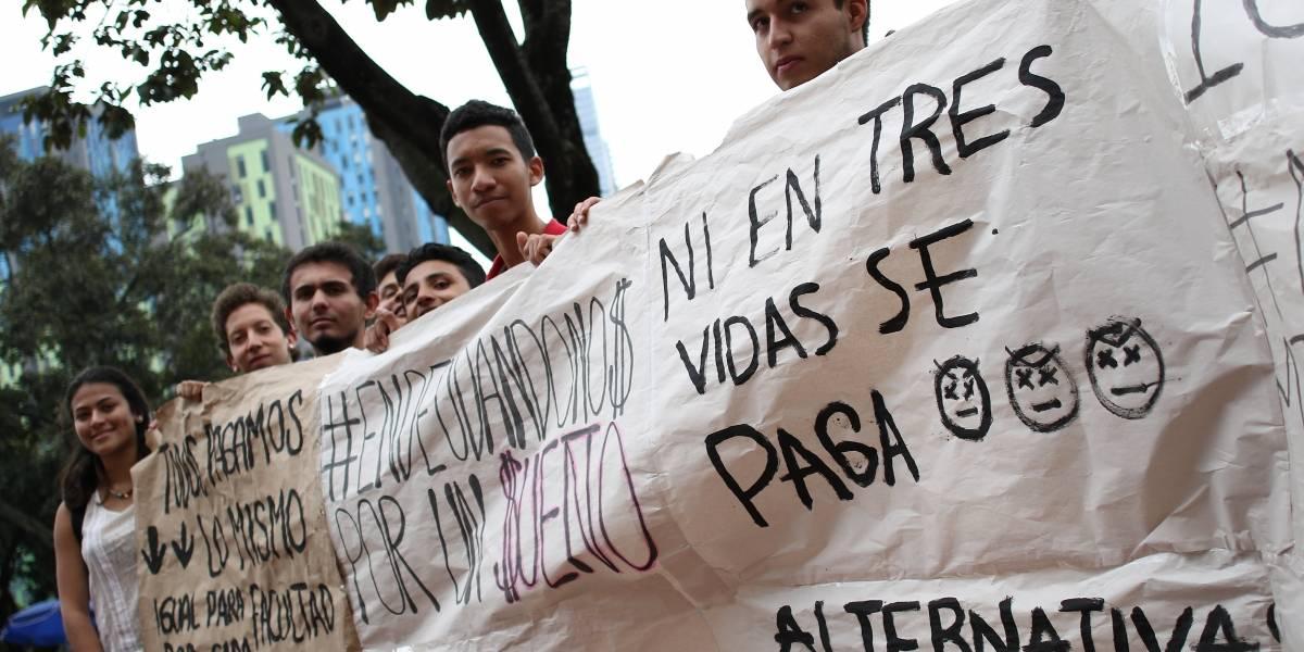 Estudiantes de los Andes estarían respaldados por Ley 30 al pedir incrementos justificados en matrículas