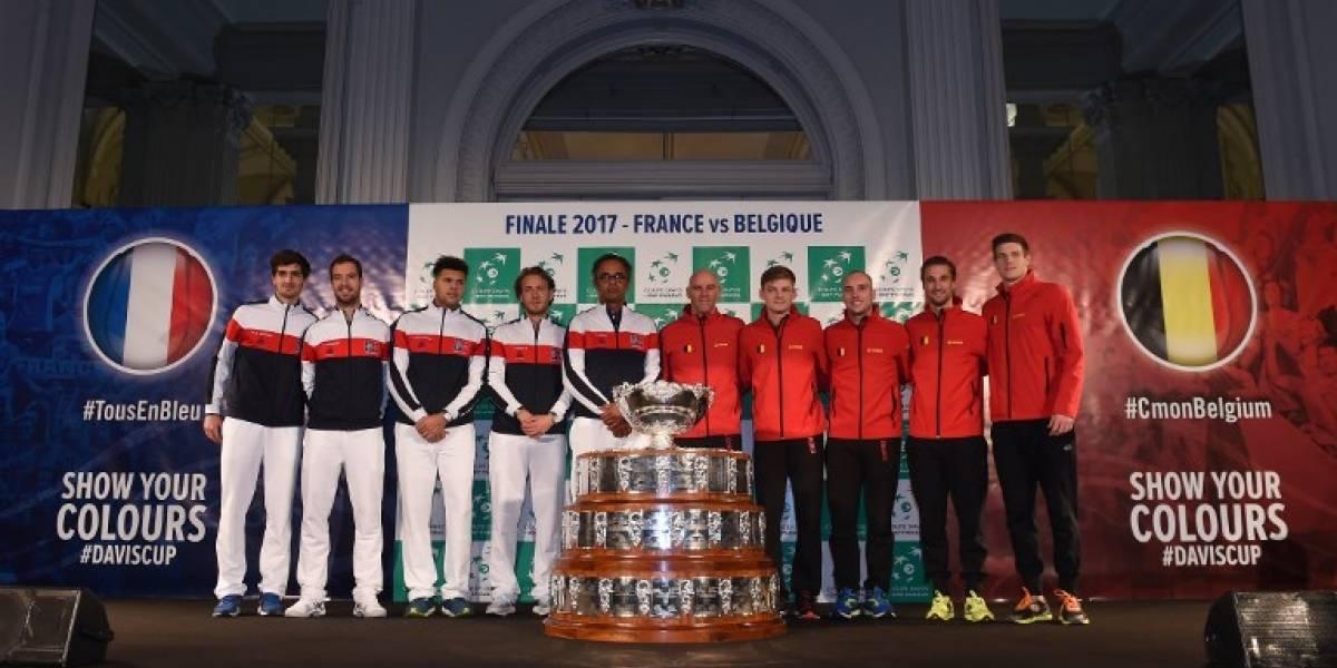 Copa Davis: Francia y Bélgica van por la Ensaladera de Plata en una final emocionante