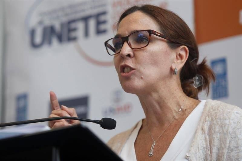 directora regional adjunta de ONU Mujeres para las Américas y el Caribe, Lara Blanco