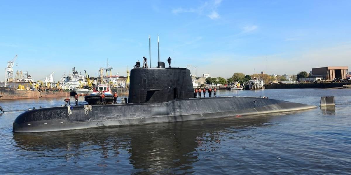 Once días después de su desaparición sigue sin resultados la búsqueda del submarino argentino ARA San Juan