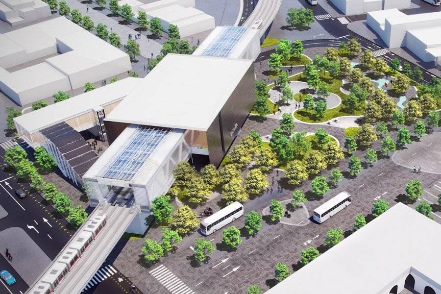 Proyecto de paisaje urbano en la Estación Basílica.