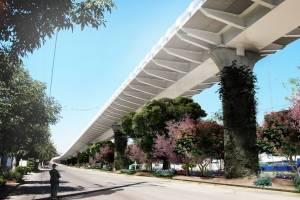 El Sistema de Tren Eléctrico presentó el proyecto de paisaje urbano que se llevará a cabo al finalizar la construcción