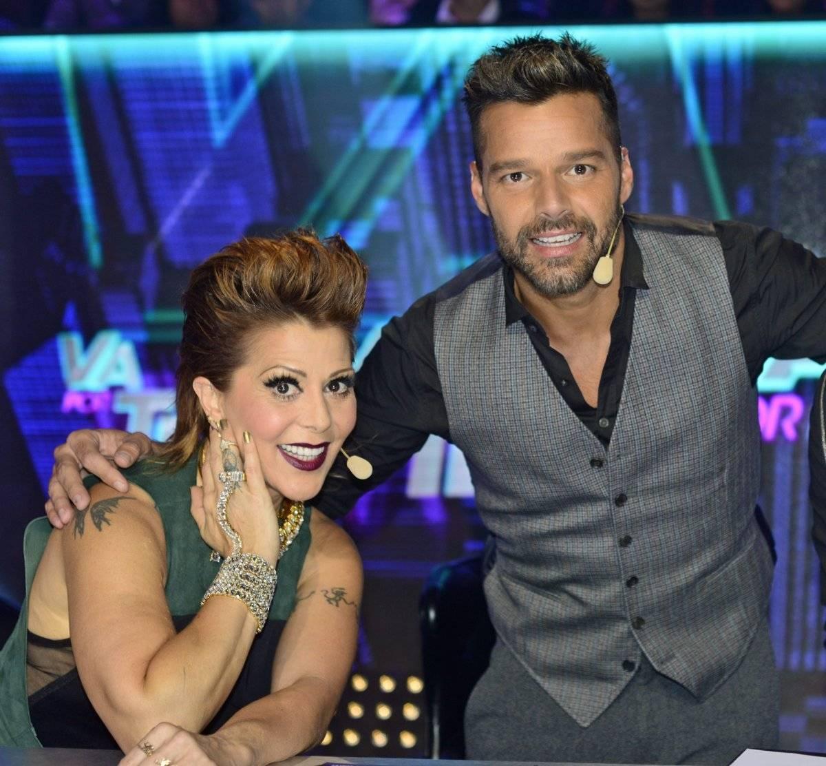 Ricky Martin y Alejandra Guzman