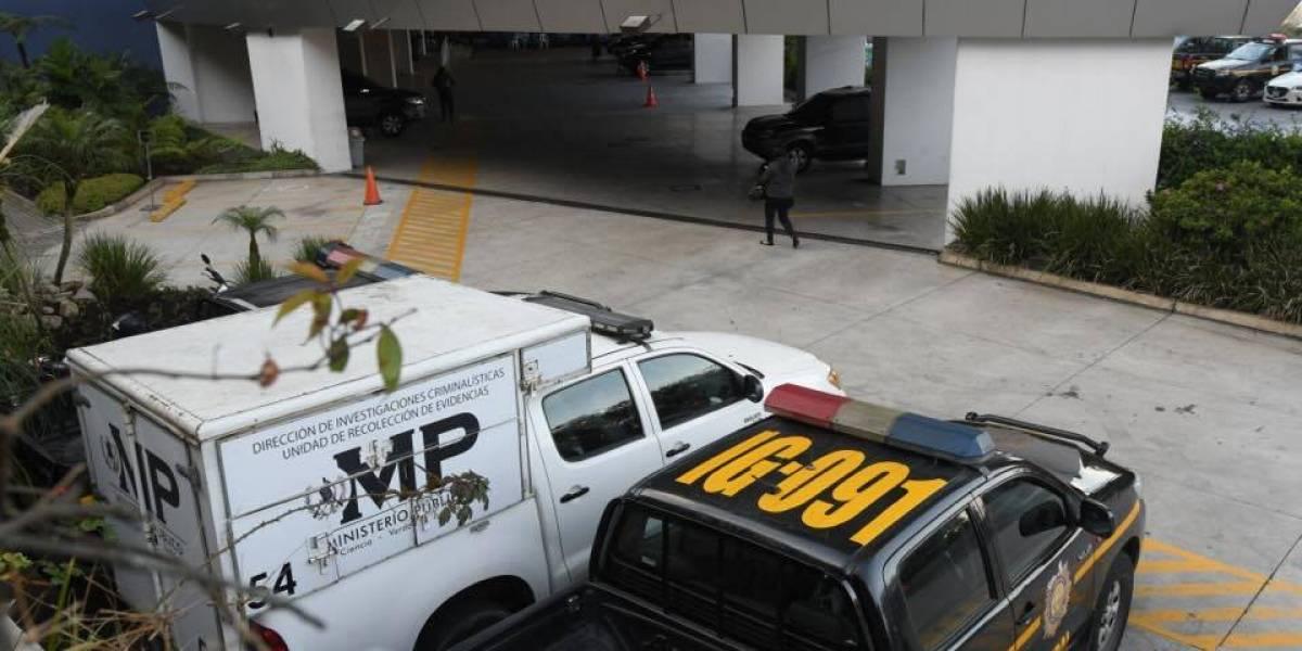 MP y CICIG realizan allanamientos por caso que se encuentra bajo reserva