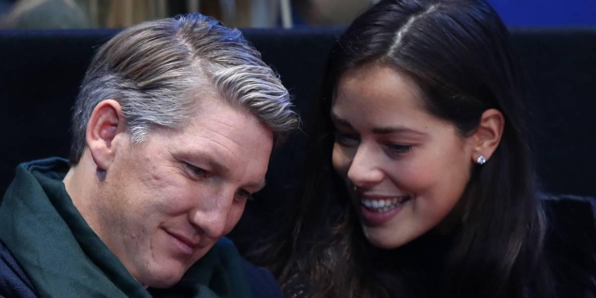 Ana Ivanovic dio gran noticia a su esposo Bastian Schweinsteiger en Twitter