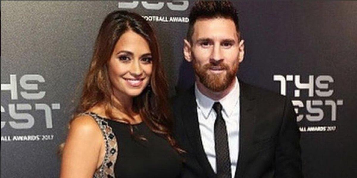 Antonela Roccuzzo hace suspirar a Messi con una foto de su avanzado embarazo