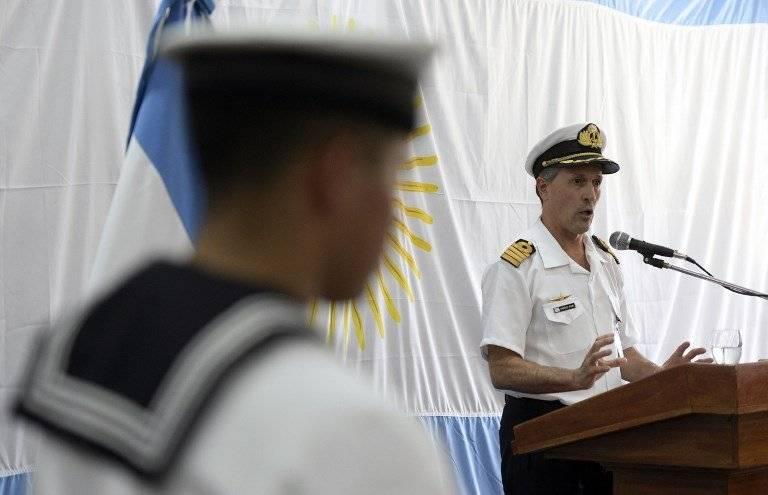 Enrique Balbi, portavoz de la Armada de Argentina