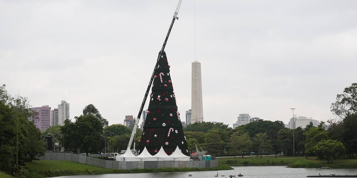Árvore de Natal do Ibirapuera será inaugurada neste sábado