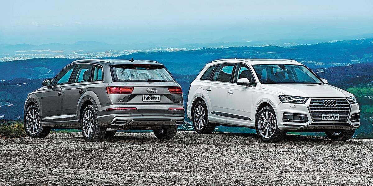 Apesar de toda tecnologia e luxuosidade, Audi Q7 é grande demais