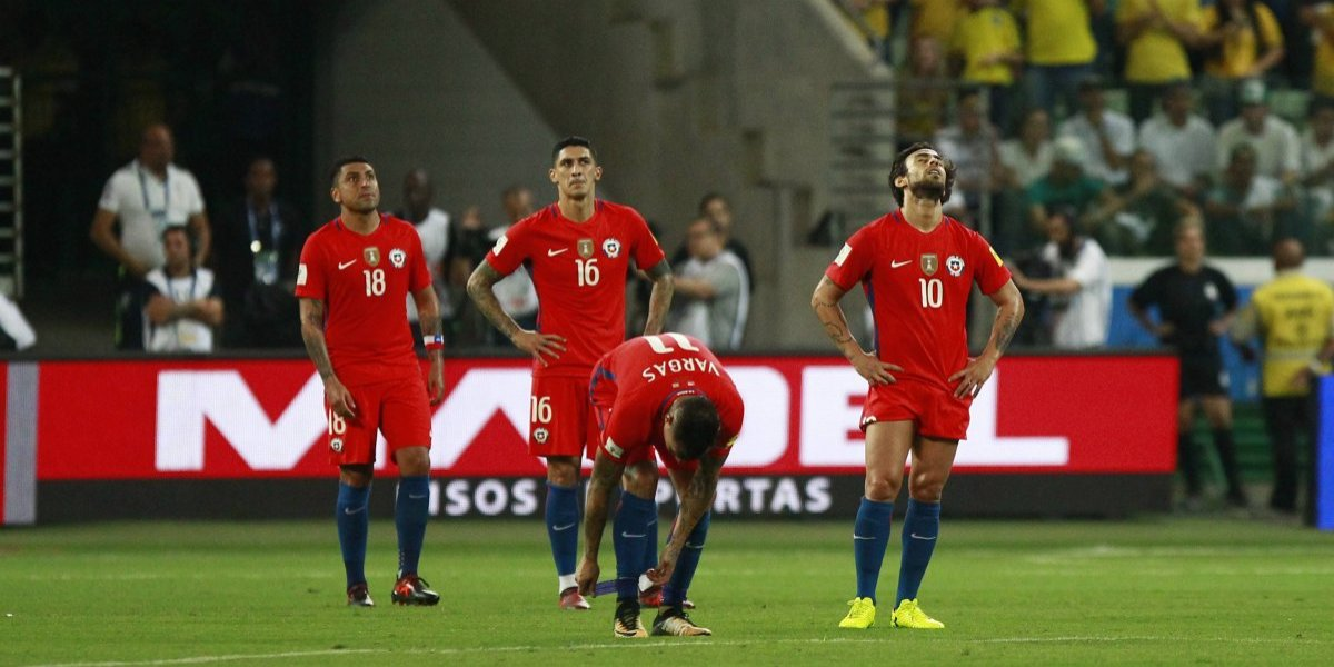 La Generación Dorada sufre las consecuencias: Chile ocupa su peor ranking FIFA en dos años