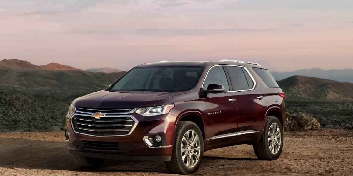 Chevrolet Traverse: la gigante con toda la comodidad