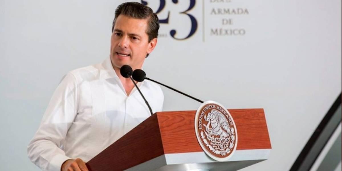 Peña Nieto llama a trabajar en conjunto para aprobar la Ley de Seguridad