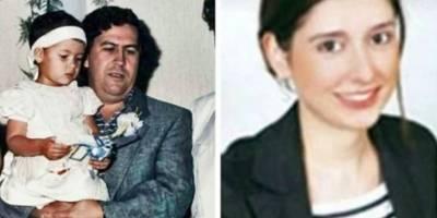 Manuela, la hija de Pablo Escobar