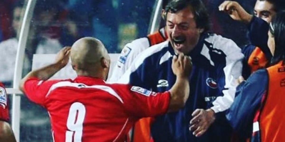 """Bravo, Medel, Suazo, Vidal y Alexis despidieron a Bonini: """"Gracias por todo profesor"""""""