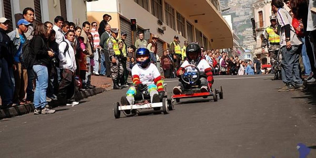 Municipio termina preparativos de carreras de coches de madera
