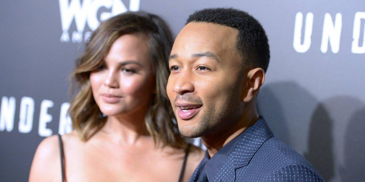 El tierno video con el que la esposa de John Legend anunció que está embarazada