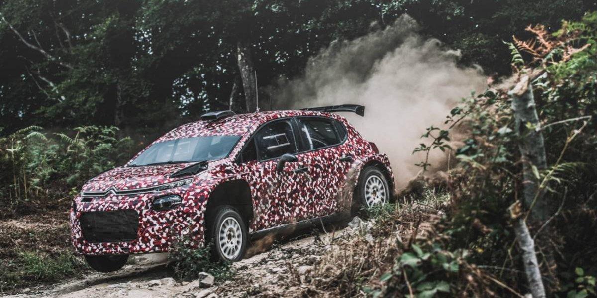 Citroën lanza a la pista su nuevo C3 R5