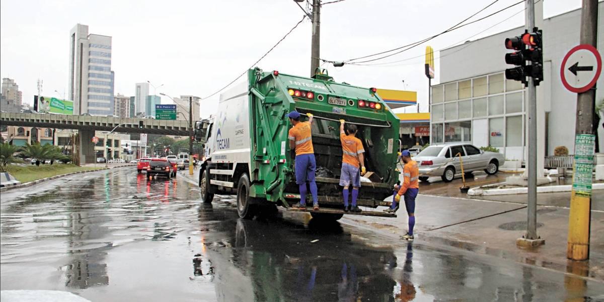 Contrato do lixo é aditado e prorrogado por 6 meses em Campinas