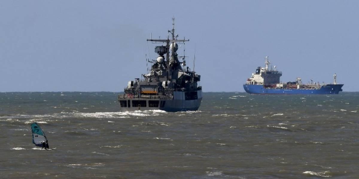 Sin rastros del submarino argentino pese a intensa búsqueda