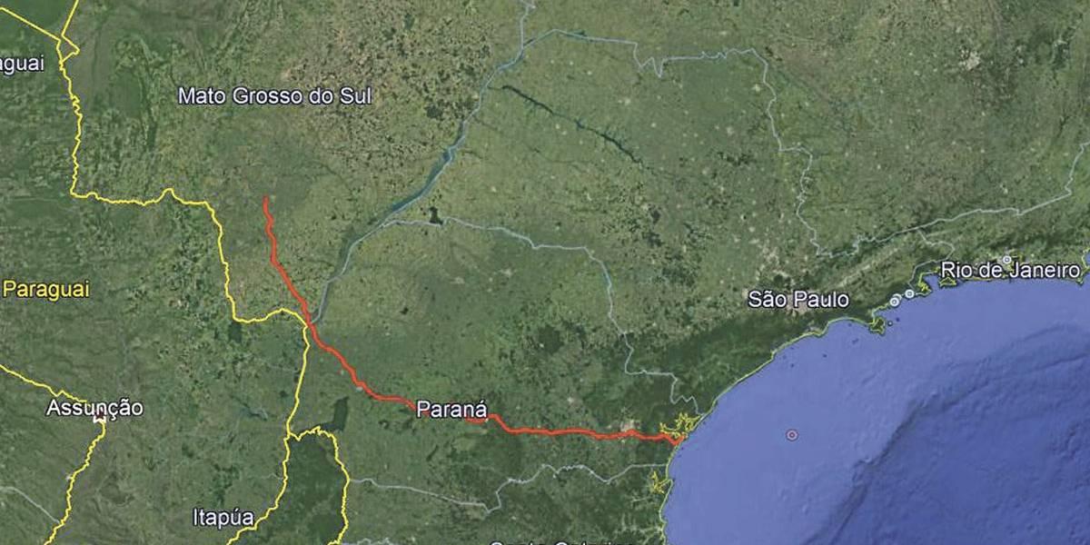 Governo paranaense projeta nova ferrovia até Paranaguá