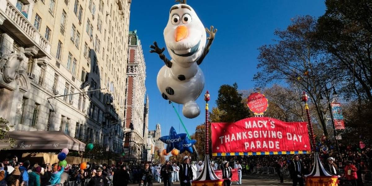FOTOS. El tradicional desfile de Acción de Gracias recorre las calles de Nueva York