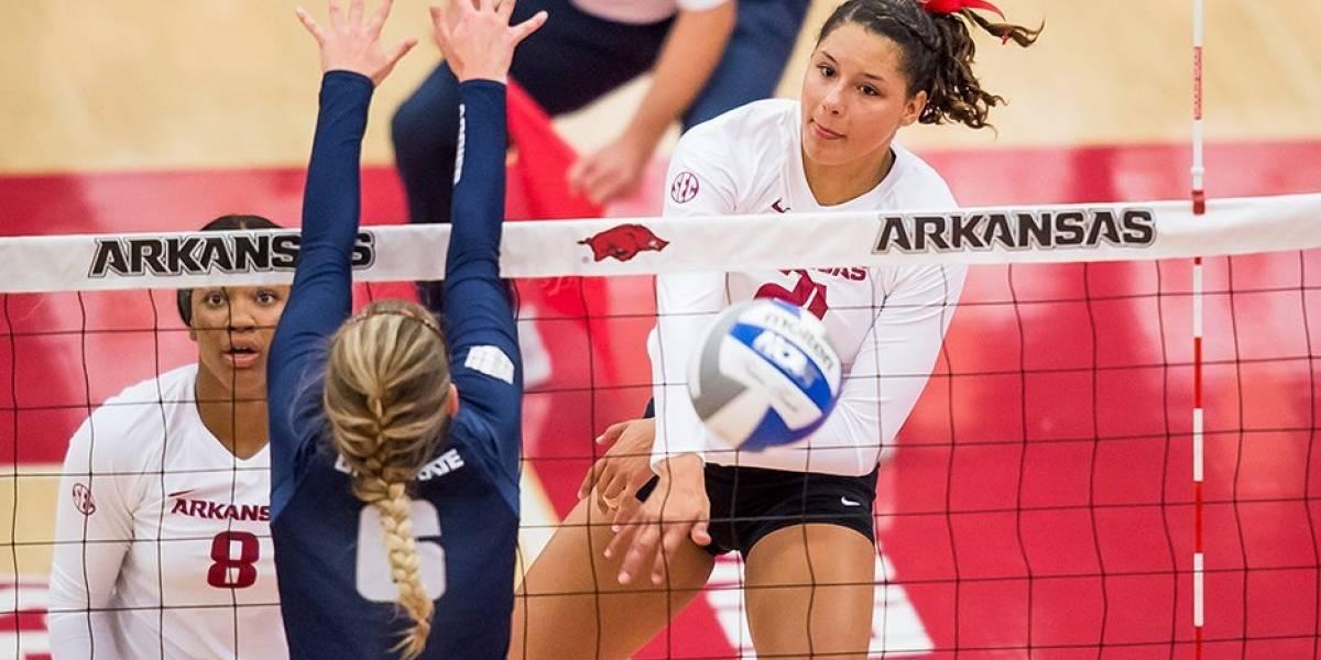 Pilar Victoriá alcanza cifra histórica con Arkansas