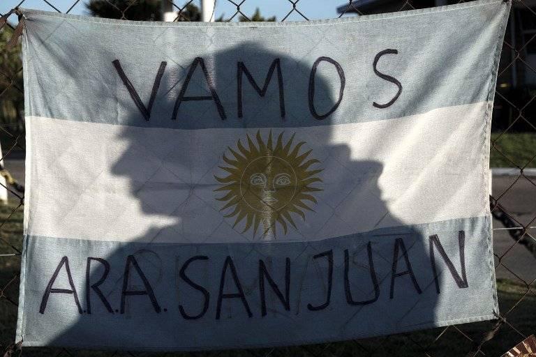 Recuerdan a los tripulantes del ARA San Juan